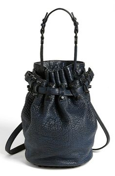 Alexander Wang 'Diego' Leather Bucket Bag available at #Nordstrom