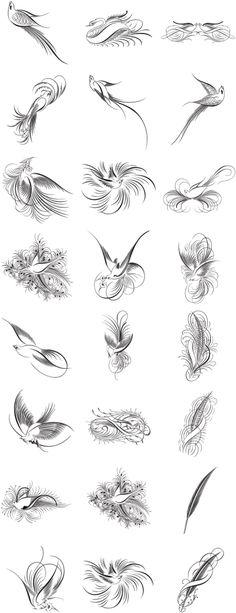 A Useful Roundup of Free Calligraphy Vectors   Starsunflower Studio Blog