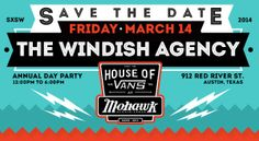 Friday of SXSW, the Windish Agency has their annual shindig.