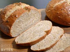 Honey Sunflower Bread - Budget Bytes