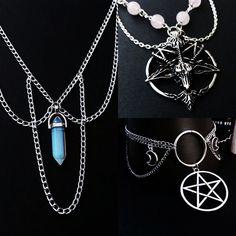 nu goth jewelry by www.etsy.com/shop/OfStarsAndWine