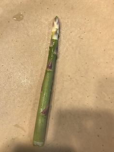 [Found] My asparagus is having an identity crisis