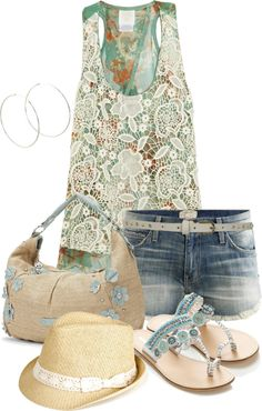 """""""Ready for summer"""" by leilani-almazan ❤ liked on Polyvore"""