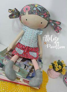 Mini Girl Doll Key Chain Kids Plush Baby Dolls Keychain Toys Keyring Decors Pip