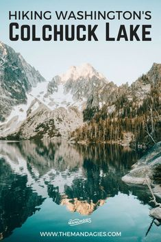 Hike one of Washington's most beautiful trails. The Colchuck Lake hike is an round trip day trail with spectacular views of the Cascade Mountains in the Pacific Northwest. Click the post to read how to prepare for your own trip! Places To Travel, Travel Destinations, Places To Visit, Cascade Mountains, Rocky Mountains, Round Trip, 8 Mile, Beach Trip, Beach Travel