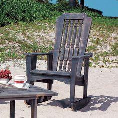Uwharrie Chair 6012-047 Hatteras Rocker Outdoor Rocking Chair