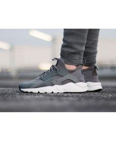 c04531702760 Nike Air Huarache Run Ultra Trainers In Grey Black Huarache