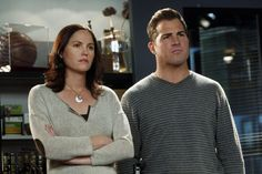 CSI NICK AND SARAH: If they are going to leave Sara single, then I wouldn't mind a little hookup between these two or between her and Greg-o, but that one is a little weird.
