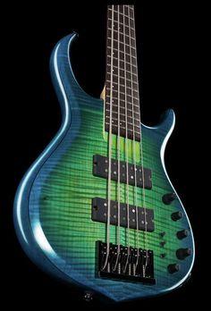 Marcus Miller M7 5st TBL - Colour: Transparent blue matte -Thomann www.thomann.de #bass #bassist #strings #five #blue #bassguitar #guitar