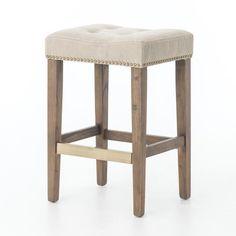 Augustine Furniture Inteus Counter Stool Desert Canvas