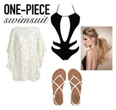 """""""One piece"""" by lainey-ii ❤ liked on Polyvore featuring Billabong and onepieceswimsuit"""