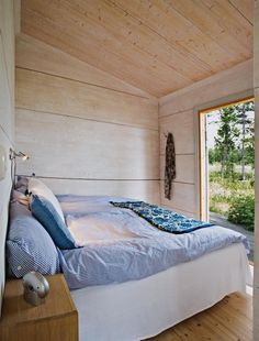 A summer house in Sweden. Photo by Per Dahl for Hus & Hem.