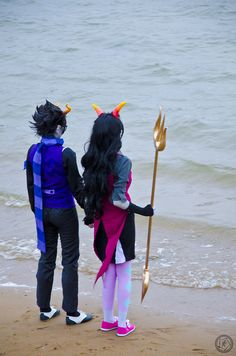 First of all this is amazing cosplay. Second of all Eridan has an amazing butt like whoa.<< repining mainly for comment but this cosplay does rock