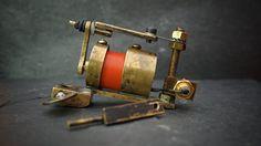 ROJA handmade rotary tattoo machine by TrenaMachines on Etsy