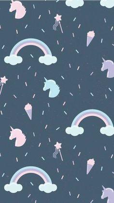 Wallpaper From unicorns Unicornios Wallpaper, Hipster Wallpaper, Pastel Wallpaper, Kawaii Wallpaper, Tumblr Wallpaper, Cute Wallpaper Backgrounds, Cellphone Wallpaper, Disney Wallpaper, Lock Screen Wallpaper