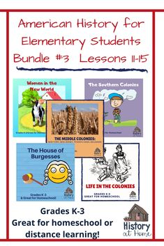 American History Lessons for Grades Homeschool, & Distance Learning - american history Social Studies Resources, Learning Resources, Teacher Resources, American History Lessons, Homeschool Curriculum, Homeschooling Resources, Word Pictures, Teacher Tools, Southern Colonies