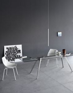 Oszczędność formy  #table #pianca #delta #modern #design #furniture #from #italy #internoitaliano