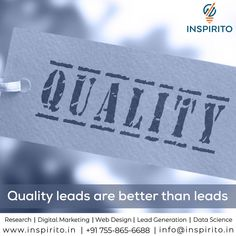 Lead Generation service by Inspirito Digital Marketing Data Science, Lead Generation, Digital Marketing, Web Design, Design Web, Website Designs, Site Design