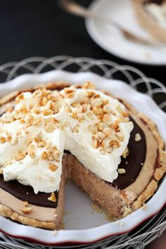 Milk Chocolate Peanut Butter Pie