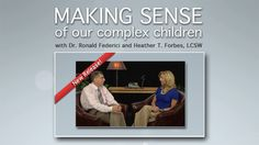 Making Sense DVD Series. this series comes highly recommended by a Christian family I know who says it made a significant difference in their child's life and the parents as well. Spendy, but compared to the cost of counseling not so much.