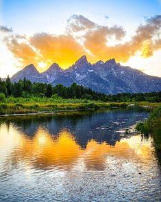 American National Parks, Thomas Merton, Reflection Photography, Grand Teton National Park, Jackson Hole, Wyoming, Beautiful World, Acre, Mountains