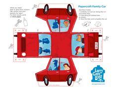 Paper Car Print Out