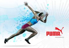 Puma Ad by Ralph Andre, via Behance