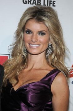 Sports Illustrated 2008 Cover Model Marisa Miller on February 12 2008 during a press conference at the Sports Illustrated office at 7 World Trade...