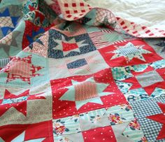 juli quilt, 4 july quilt, color, 4th of july quilt, star quilts, blue quilts, patriotic quilts, patriot quilt, americana quilt