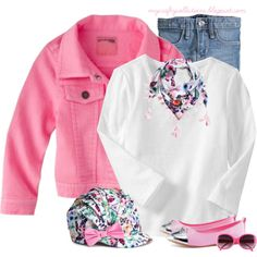 Toddler Girl's Outfit: Butterfly, created by angiejane on Polyvore