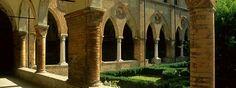 Label_San Benedetto Po, Chiostro di San Simeone