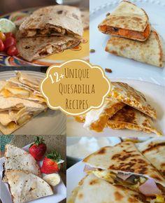 Unique Quesadilla Recipes
