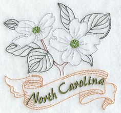Hey, I found this really awesome Etsy listing at https://www.etsy.com/listing/197369329/north-carolina-dogwood-state-flower