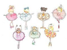 девочка балерина картинки - Поиск в Google