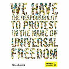 Amnesty International, Nelson Mandela, Human Rights, Sprinkles, Freedom, Liberty, Political Freedom