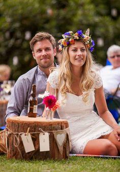 Novia informal. Casual wedding http://conbdeboda.blogspot.com.es/2014/05/novia-informal.html