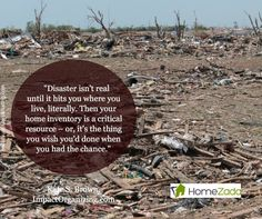 Disaster isn't real until it hits you. #EmergencyPreparedness