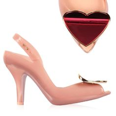 Vivienne Westwood + Melissa Lady Dragon Heart in lychee/red.