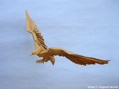 origami eagle