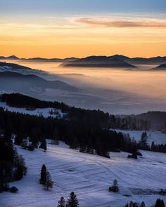 Januárový výhľad z Cibuľkovej skaly od Mountains, Nature, Travel, Naturaleza, Viajes, Destinations, Traveling, Trips, Nature Illustration
