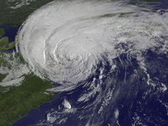 Irene Makes Landfall Over New York