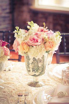 Unique Vase to make a unique floral table setting