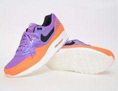 #Nike Air Max 1 FB Premium QS Purple Orange #sneakers