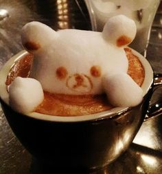 Kazuki Yamamoto is a Japanese coffee latte artist who is known for his amazing coffee latte art. Kazuki Yamamoto Coffee Art is a trending topic Café Latte, Coffee Latte Art, I Love Coffee, My Coffee, Drip Coffee, Barista Course, Cappuccino Art, Cute Food, Food Art