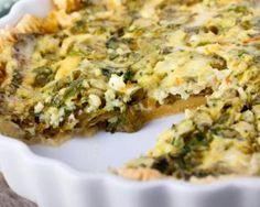 Quiche diététique au kale : http://www.fourchette-et-bikini.fr/recettes/recettes-minceur/quiche-dietetique-au-kale.html