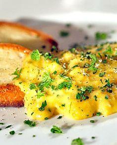 Low FODMAP Recipe and Gluten Free Recipe - Scrambled eggs