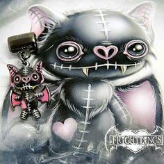 Bon fire Frightlings t Bon fire Gothic art and Dark art Voodoo Doll Tattoo, Voodoo Dolls, Emo Art, Goth Art, Image 3d, Gothic Fantasy Art, Pomes, Dark And Twisty, Gothic Dolls