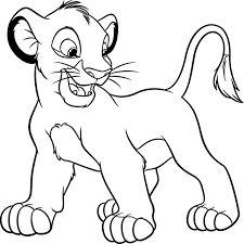Simba Ausmalbilder König der Löwen Malvorlagen …   Pinterest