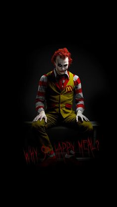 McDonalds Joker iPhone 5 Wallpapers