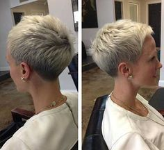 Attractive and Different Short Pixie Cuts   The Best Short Hairstyles  for Women 2016